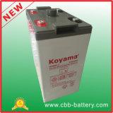 bateria estacionária recarregável para telecomunicações, sistema solar de 2V 600ah