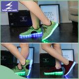 USB luminoso que cobra sapatas leves do diodo emissor de luz com a cor 11 mutável