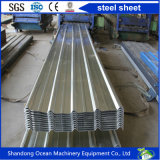 Лист толя Corrugated цвета стальной стали PPGI с моделью Yx15-225-900