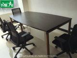 Tabela de reunião reta da mobília de escritório do projeto da qualidade excelente