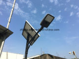 日50W LEDの太陽街灯ごとの100%年の明るさ12hoursの作業時間