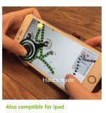 iPhoneのアンドロイドのためのタッチ画面の二重棒のジョイスティックの移動式ジョイスティック