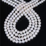 """B級の8mm 9mm Frehswaterの真珠の繊維16 """"長く"""