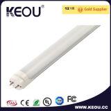 PF>0.98 G13 기본적인 LED T8 Tubo 1200mm 18W