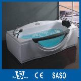 Bañera al por mayor del rectángulo de China con los jets del masaje
