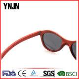 Ynjnのハンドメイドの赤く自然な木製のサングラス