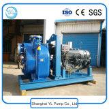 Individu de fer de moulage de 8 pouces amorçant la pompe à eau diesel centrifuge