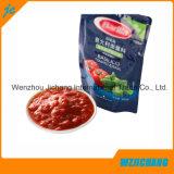 Ponte de pie plástico Boquilla Alimentos Réplica bolsa de jugo de embalaje