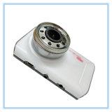Novatek 1080P 9つのIRランプの夜間視界の白いカラー車のカメラDVR