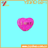 Distintivo Heart-Shaped di Matal di marchio su ordinazione (YB-HD-69)