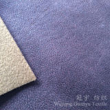 Micro residuo del tessuto del cuoio del poliestere del pelo della pelle scamosciata per la decorazione domestica
