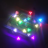 DC5V 12V Full Color 12mm Square Pixel LED Ws2811, Ws2812b