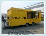 عمليّة بيع حارّ جيّدة نوعية بنزين طعام عربة طعام عربة مع علامة تجاريّة كهربائيّة طعام عربة
