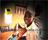 Lâmpada de mesa solar portátil PS-L045b da alta qualidade para o estudo interno & ao ar livre da leitura da iluminação