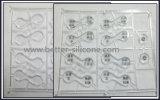 Clavier en caoutchouc silicone avec couvercle en plastique pour clavier