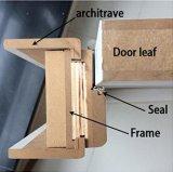 Роскошная деревянная дверь с Windows, дверь PVC MDF PVC с кроной двери (SC-P174)