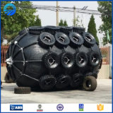 Defensa de goma marina cilíndrica neumática del remolcador