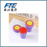 Kundenspezifische Farben-Plastikgriff-Spielzeug-Stempel für Kinder