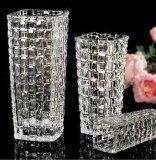 Vaso de vidro de cristal
