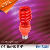 Lámparas del ahorro de la energía del espiral 20W 26W E27 del T3 de la lámpara colorida de CFL medias