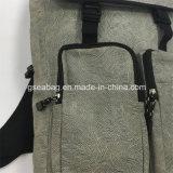 方法偶然袋の高品質のバックパック(GB#20077)をハイキングする新しい設計されていたキャンバス旅行スポーツ