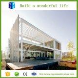 Edificio prefabricado de la estructura de acero de la subida de la calidad superior alto