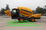 Heißer Verkauf Hongyuan 3.5cbm konkreter Kleber-Mischer-LKW für Verkauf