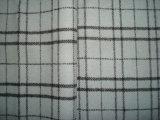 Tela de lana de la verificación doble del terciopelo