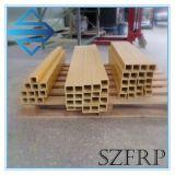 Труба FRP прямоугольная, профиль Pultrusion стеклоткани, пробка стеклоткани прямоугольная