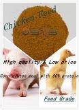 La volaille alimentent le repas de gluten de maïs pour l'alimentation des animaux