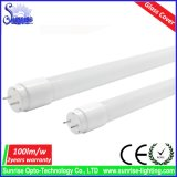 105lm/W 커버 유리 0.6m 9W T8 LED 형광등