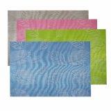 Sprung-Farbe Kurbelgehäuse-Belüftung gesponnenes Placemat für Tischplatte u. Bodenbelag