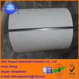 Tubo di ceramica dell'allumina di 92% allineato per la strumentazione dell'officina siderurgica