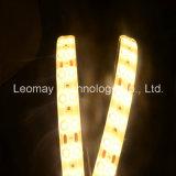 Fila doble de la luz de tira de SMD5630 LED 24VDC con buena calidad