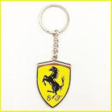 Suporte Ferrari Keychain da chave do logotipo do carro da liga do metal da qualidade superior