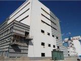 プレハブの鉄骨構造の高層住宅建設