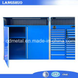 De grote Kabinetten van het Hulpmiddel van de Opslag van het Metaal/het Garage Gebruikte Kabinet van het Hulpmiddel van het Staal