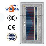 Sunproof silberne Farbe mit GlasEdelstahl-Sicherheits-Tür (W-GH-12)