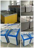 Congelador da C.C./refrigerador solares 268L para o uso Home