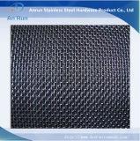 Het roestvrij staal Geplooide Netwerk van de Draad met Vierkant Gat
