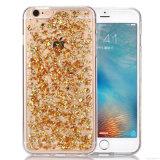 Различные цветы и случай мобильного телефона способа TPU с случаем платины iPhone (XSDD-004)