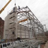 Stahlbaustahlwerkstatt-Aufbau mit Kabinendach