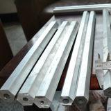 Tubo hexagonal 5052 H112 de la aleación de aluminio