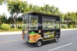 Carro móvel de quatro rodas do alimento da boa qualidade para a venda