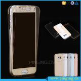 360 cubierta del teléfono celular de la cubierta completa TPU para Samsung J1/J2/J3/J5/J7 2016