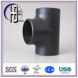 Té de pipe/ajustage de précision noirs soudés bout à bout té réducteur ASME B16.9