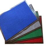 Stuoia di portello costolata del PVC per uso commerciale (ribbed, protezione di velour+PVC)