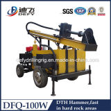 BoreholeのためのDTH Small Water Well Drilling Machine