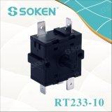 Interruptor rotatorio de la cocina de la posición de Soken 4