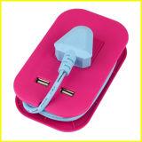 Гнездо подарка USB способа красное малое портативное многофункциональное